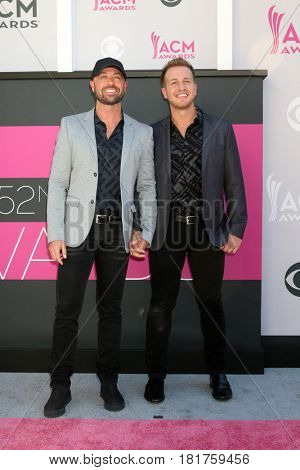 LAS VEGAS - APR 2:  Cody Alan, Guest at the Academy of Country Music Awards 2017 at T-Mobile Arena on April 2, 2017 in Las Vegas, NV