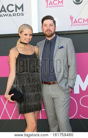 LAS VEGAS - APR 2:  Wife, Corey Crowder at the Academy of Country Music Awards 2017 at T-Mobile Arena on April 2, 2017 in Las Vegas, NV