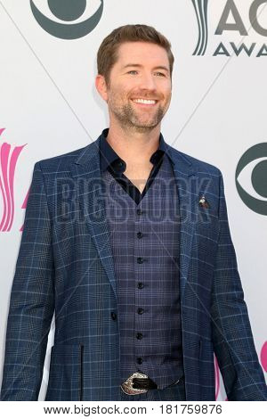 LAS VEGAS - APR 2:  Josh Turner at the Academy of Country Music Awards 2017 at T-Mobile Arena on April 2, 2017 in Las Vegas, NV