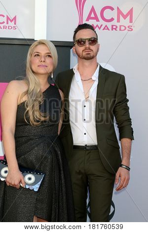 LAS VEGAS - APR 2:  Guest, Nitzan Kaikov, K-KOV at the Academy of Country Music Awards 2017 at T-Mobile Arena on April 2, 2017 in Las Vegas, NV