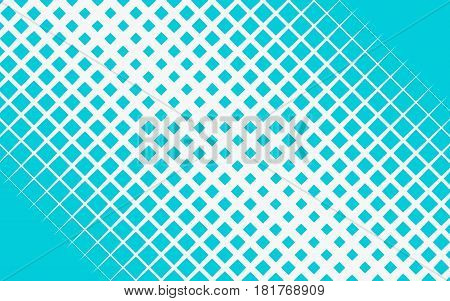 Halftone blue technology concept background and blue dots