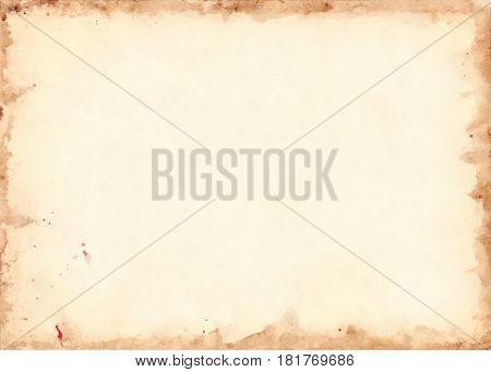 Vintage retro paper sheet grunge background texture