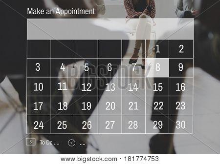 Calendar Appointment Schedule Personal Organizer