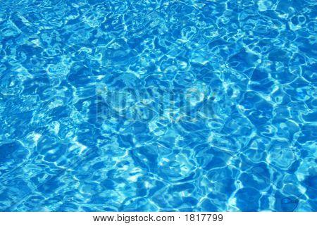 Sparking Pool Water