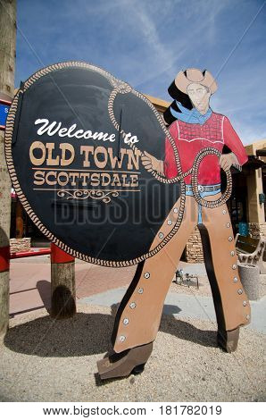 Welcome To Oldtown, Scottsdale