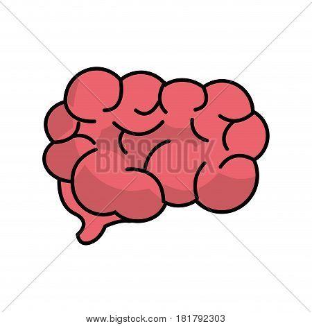 mental health smart brain, vector illustration design