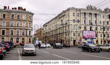 Street In Saint Petersburg, Russia