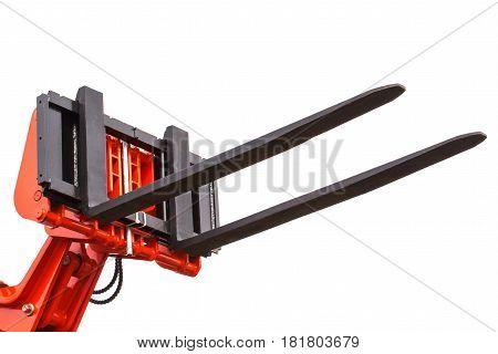 Part Of Forklift Loader Or Stacker, Technology