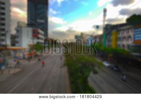 blurred photo, Blurry image, Traffic in the capital, background
