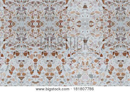 terrazzo floor concrete texture for background .
