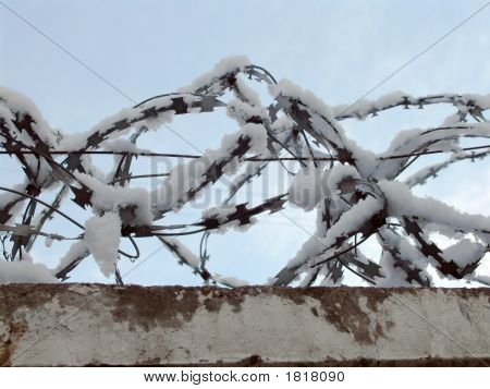 Snow On Wire