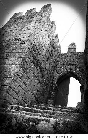 Castle entrance !