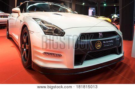 Nissan Gt-r Presented On Tel-aviv Motor Show
