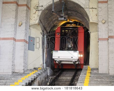 Como Brunate Funicular