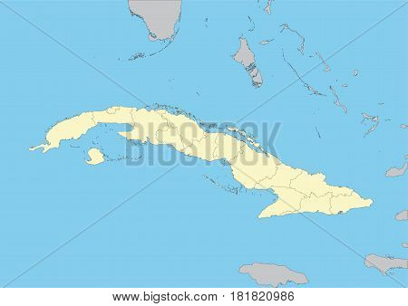 Map Of Cuba