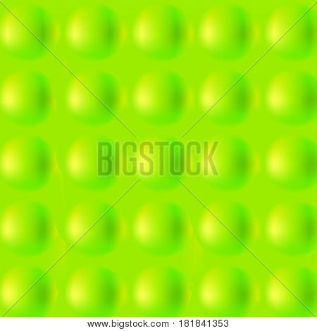 Vector illustration of tennis ball pattern, background, texture. Abstract green, spring and space field. Activity sport. 3d balls.