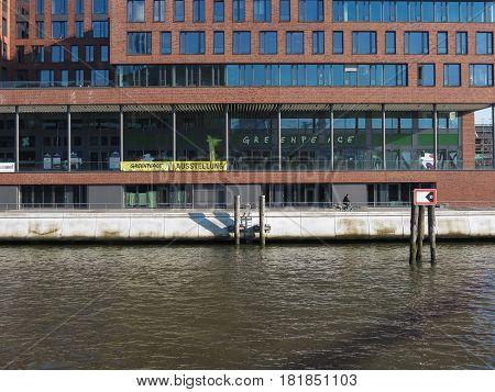 Greenpeace Seat In Hamburg