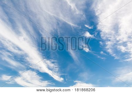 The air atmosphere great blue beauty sky