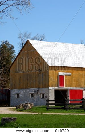 Colourful Barn
