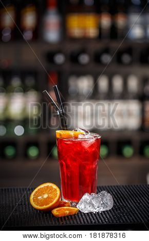 Fresh Red Non Alcoholic Cocktail