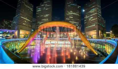 Fountain Of Wealth At Suntec City Towers, Singapore