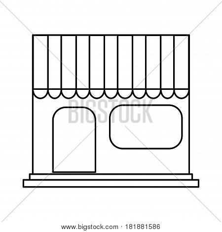 store icon over white background. vector illustration