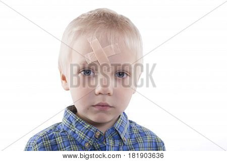 Child With Plaster