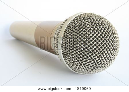 Silber Mikrofon