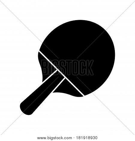 racket ping pong sport image pictogram vector illustration ep 10