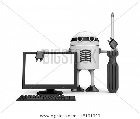 Robot with PC
