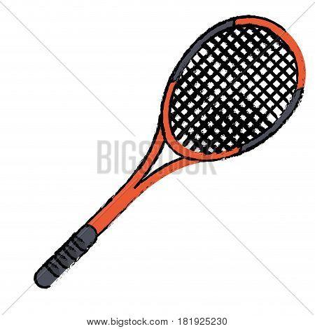tennis racket sport icon vector illustration eps 10