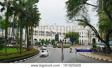 Jalan Perdana Road, Kuala Lumpur Street of Kuala Lumpur