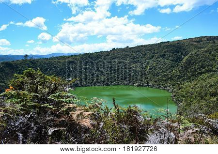 Natural Park Laguna Del Cacique Guatavita