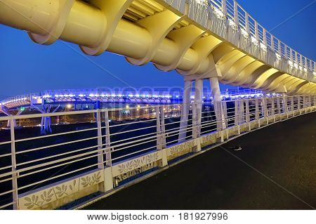 Bicycle And Pedestrian Overpass