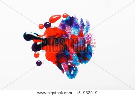 Abstractionism Creative Art Colorful Bright Modern Abstract Painting Concept