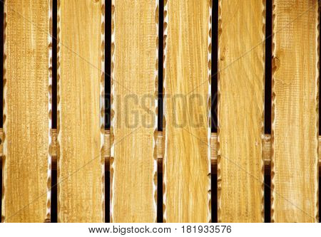 Light Brown Barn Wooden Wall Planking Texture. Solid Wood Slats Rustic Shabby Brown Background. Grunge Wood Board Panel Structure.