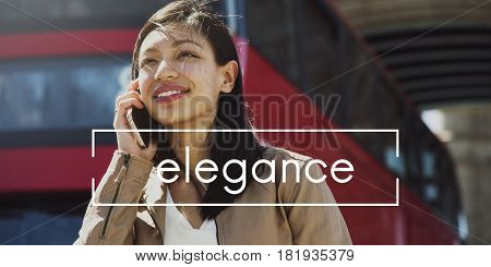 Elegance Young Model Style Female Woman