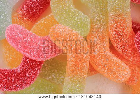 Jelly Gumdrop Sweet Background