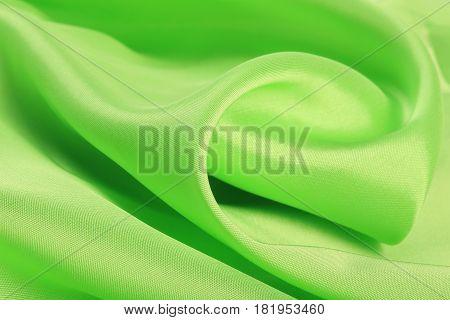 Soft Green Satin