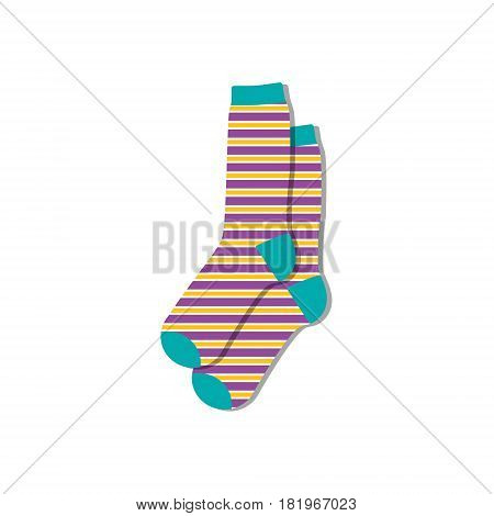 Socks Pair Vector