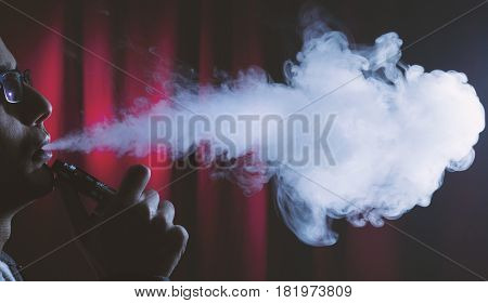 Smoking Electronic Cigarette Or Vaping Device.