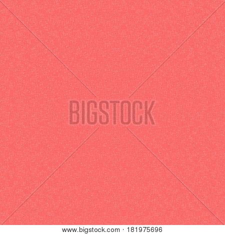 Abstract pattern with interference. Red background with white noise. Vector illustration.