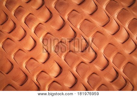 abstract background or texture Scaly pattern in clay
