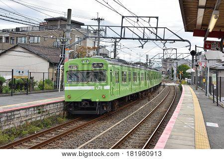Rail Train In Japan