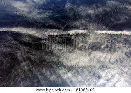 Whimsical Cirrus Clouds