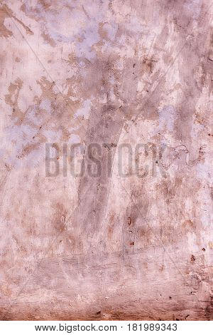 Textures on the brown wall, for background. Grungy brown concrete wall background. Background from high detailed fragment stone wall. Cement texture. Brown concrete wall.