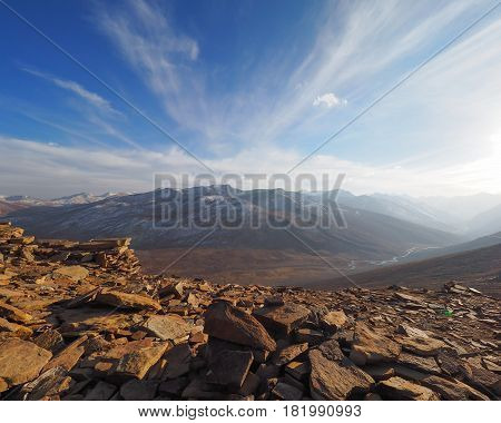 Beautiful Landscape Of Babusar Top, Kaghan Valley Pakistan