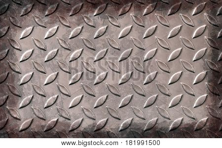 grunge aluminum plate metal texture and background\