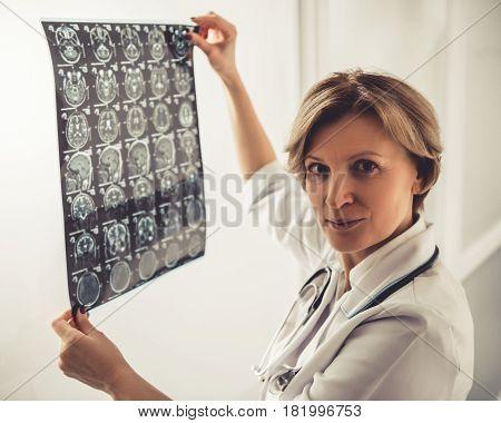 Beautiful Mature Doctor