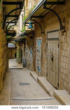 Alley In The Old City,  In Nazareth